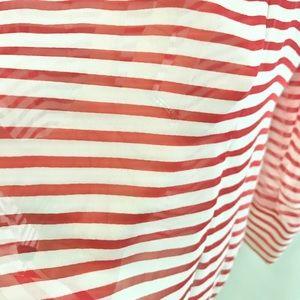 Patterson J. Kincaid Tops - Silk Striped Blouse